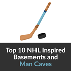 Best NHL Team Themed Basements Feature Groundworks