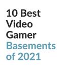 Best Video Gamer Basements Feature GW
